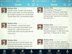 Raditya dika with some tweets. Just sone motivations to move on hahaha
