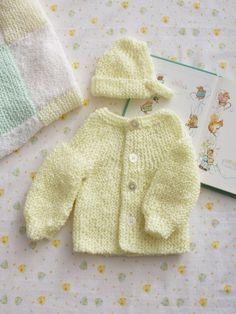 Preemie Garter Stitch Set