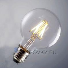 FILAMENT žiarovka je rustikálneho vzhľadu a poskytuje krásne kultivované svetlo s perfektnou reprezentáciou farieb. Žiarovka dokáže vykúzliť fantastické osvetlenie pre zlepšenie nálady. Vďaka štandardnej pätici E27 ju môžete použiť do akéhokoľvek lustra, lampy ktorá má túto päticu. Vďaka svojmu dizajnu sa táto žiarovka hodí ako diskrétne efektné osvetlenie na večerné posedenie. www.ziarovky.eu Shinee, Light Bulb, Led, Lighting, Home Decor, Decoration Home, Room Decor, Light Globes, Lights