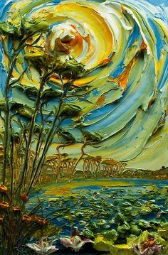 24x36 Lakescape by: Justin Gaffrey