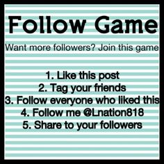 ▪️New Follow Game▪️ Hello posh friends! Want more followers? Join in on this game and watch your followers grow! To play - follow the steps listed above. Check back frequently for new followers. When new people join the game they will follow you and you will gain more followers with the more people that play. Don't forget to follow me too Also stop in to my shop and check out my 200+ listings of new & gently used items in a variety of brands/sizes. Happy Poshing  Nike Bags