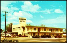 Knoxon Motel, Miami FL -- once owned by my great aunt and uncle. Happy memories visiting this place as a little girl.