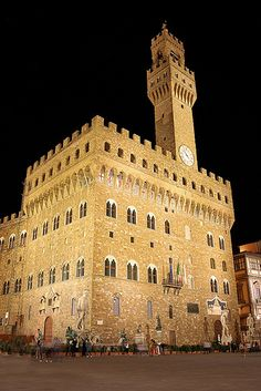 Palazzo Vecchio Firenze, Italia once home to the Medici Family , First Family of Florence