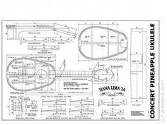 Ukulele Plan from Waverley St Ukuleles. Also has links to