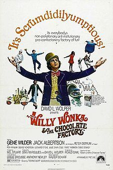 Willy Wonka and the Chocolate Factory (1971). D: Mel Stuart. Selected in 2014.