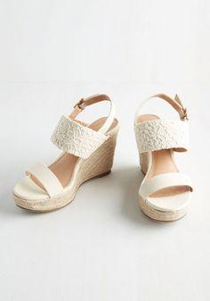 Boardwalk it Out Wedge | Mod Retro Vintage Heels | ModCloth.com