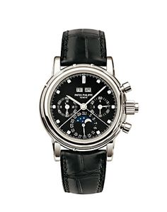 Patek Philippe Grand Complications Perpetual Calendar Split-Second Chronograph Mens Watch. List price: $241000