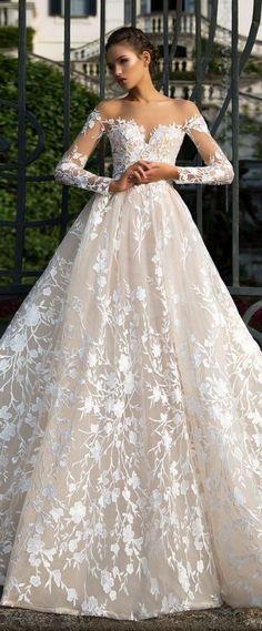 Wedding Dress by Milla Nova White Desire 2017 Bridal Collection - Azalia