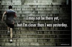 #Motivation #MorningMotivation Don't give up! You are closer than you were yesterday! 🙌🏼 #Exercise #Fitness #QOTD