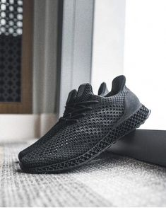 aaf353f833504 Adidas Futurecraft 3D PRINTED Ultra Boost Dark Grey Tiffany Blue UK ...