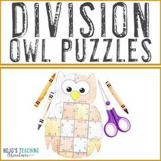 DIVISION Owl Math Activities: Halloween Games, Centers, or Worksheet Alternative | 3rd, 4th, 5th grade, Activities, Autumn, Basic Operations, Google Apps, Halloween, Homeschool, Math Centers Maths Puzzles, Math Activities, Reading Recovery, Owl Books, Ell Students, 5th Grade Classroom, 21st Century Skills, Critical Thinking Skills, Homeschool Math