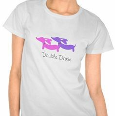 Double Doxie shirt (from the smoothe store)