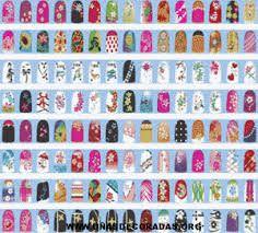 fotos de uñas decoradas paso a paso - Buscar con Google