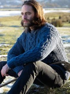"model from the rowan yarns ""dalesmen"" catalog: http://www.knitrowan.com/designs-and-patterns/brochures/dalesmen"