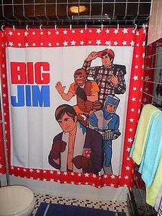 Retro-BIG-JIM-Shower-Curtain-70s-Butch-Action-Figure-Gay-Bear