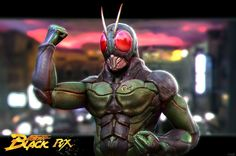 Kamen Rider Black Rx Remaster by AugustoRS