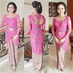 144 Best Kebaya Pesta Images Kebaya Brokat Batik Kebaya Model Kebaya