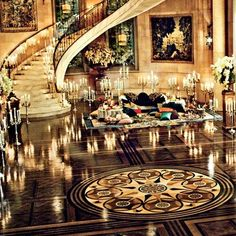 The Lavish Sets for Filmmaker Baz Luhrmann's The Great Gatsby : Architectural Digest