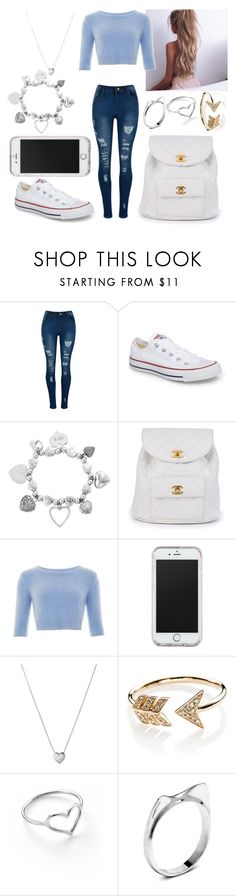 """Untitled #2"" by not-a-big-fan-of-reality ❤ liked on Polyvore featuring Converse, ChloBo, Chanel, Collectif, Links of London, EF Collection and Jordan Askill"