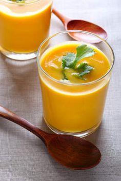 Hummm ! Soupe de carotte :  une recette  Un Jour, Une Recette