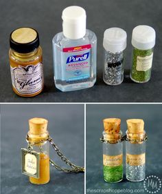 Potion ideas~Perfect favor for a Harry Potter Party! bottle crafts diy Potion ideas~Perfect favor for a Harry Potter Party! Harry Potter Fiesta, Harry Potter Thema, Cumpleaños Harry Potter, Harry Potter Birthday, Harry Potter Crafts Diy, Harry Potter Necklace, Harry Harry, Harry Potter Charms, Bottle Charms