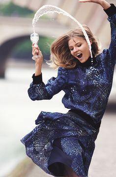 Le cliché Vogue Paris anti-blue monday de Gilles Bensimon
