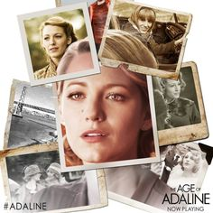 After miraculously remaining 29 years old for almost eight decades, Adaline Bowman (Blake Lively) has lived a solitary existence, never allowing herself to get close to anyone who might reveal her secret. Ryan Reynolds Family, Blake Lively Ryan Reynolds, Blake Lively Outfits, Blake Lively Family, Movie Photo, Movie Tv, Chrissy Tegan, Gossip Girl Serena, Age Of Adaline