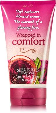 Wrapped in Comfort Shea Butter Body Scrub - Signature Collection - Bath & Body Works