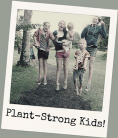 Judi's Plant-Strong Family!