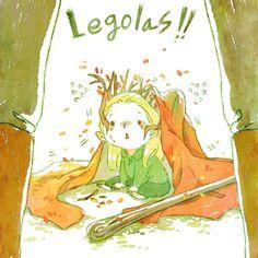 Mischievous Legolas!! by harmonia3784.deviantart.com on @deviantART