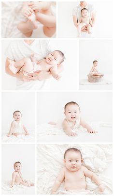 Baby Photography in studio by Miranda North