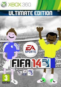 Deze fake FIFA 14 cover verdiend #1 in de beste FIFA cover van het jaar!!