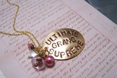 """""""Ultimate Grand Supreme"""" Necklace Beauty by EmilinaBallerina on Etsy, $18.00"""