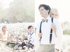 Dreamy cotton field engagement shoot <3
