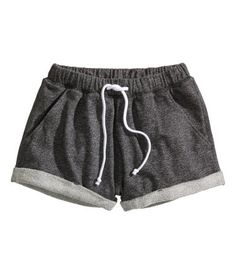 sweatpant shorts -- comfort and sportswear