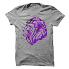 Galaxy Lion T Shirts, Hoodies. Check Price ==► https://www.sunfrog.com/Funny/Galaxy-Lion.html?41382
