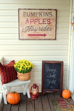 57 Cozy Thanksgiving Porch Décor Ideas