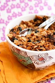 Krissy's Creations: Apricot, Cherry, Blueberry Homemade Granola