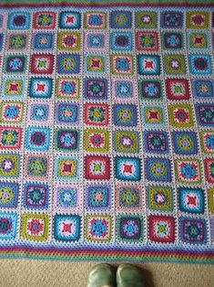 The Harmony Blanket...Very detailed tutorial for making.. It comes in two different parts,it's such a detailed pattern!! Thanks for sharing all this work!!
