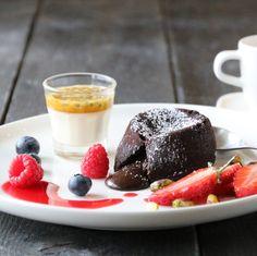 » NYTTÅRSMENYEN 2016 Panna Cotta, Pudding, Ethnic Recipes, Party, Desserts, Food, Drinks, Recipe, Caramel