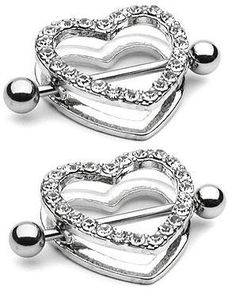 Body Accentz™ Nipple Ring Bars Rhinestone Heart Circle of Love Body Jewelry Pair 14 gauge Sold as pair HO510 Body Accentz Nipple Rings http://www.amazon.com/dp/B004APONHM/ref=cm_sw_r_pi_dp_e9w2vb1G41637