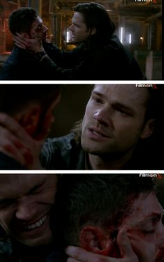 """I'm proud of us"" 9x23 Do You Believe In Miracles #SPN #Dean #Sam"