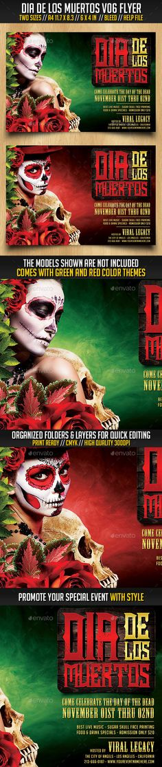 Halloween Zombie Flyer Halloween zombie, Event flyers and Flyer
