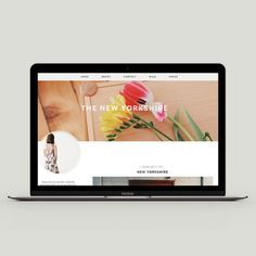 Download #Premade #Blogger #Template - The New Yorkshire - http://luvly.co/items/3940/Premade-Blogger-Template-The-New