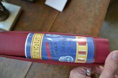 DIY Scrapbook Spine Labels