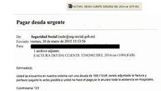 Si recibes este correo de la Seguridad Social, no lo pagues https://www.legalitas.com/actualidad/El-ultimo-fraude-suplantar-a-la-Seguridad-Social