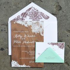 20 Rustic Wedding Invitations Any Bride Will Love | StyleCaster