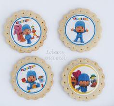 galletas decoradas Pocoyo