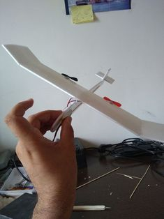 DIY WiFi Controlled Tiny Plane <15$: 9 Steps (with Pictures) Paper Airplane Game, Paper Plane, Rc Plane Plans, Fly Plane, Rainy Day Crafts, Engineering Projects, Neodymium Magnets, Aircraft Design, Model Airplanes