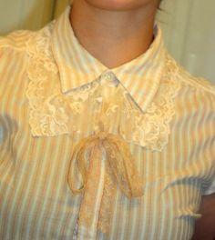 kinder words: Victorian Collar DIY